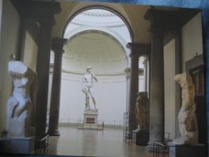 David's Hall at Accademia