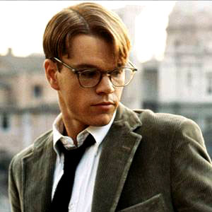 "Matt Damon as Tom Ripley in ""The Talented Mr. Ripley"" (1999)"
