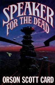 book cover speaker_for_dead