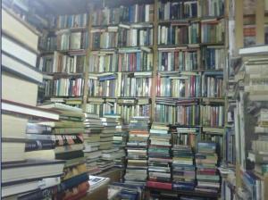 Books everywhere