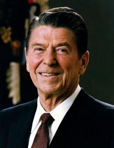 President Ronald Reagan, 1981-1989