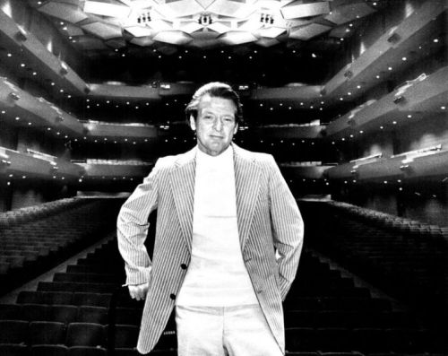 Neville Marriner in Orchestra Hall, Minneapolis 1978 (Mike Zerby/Star Tribune via AP)