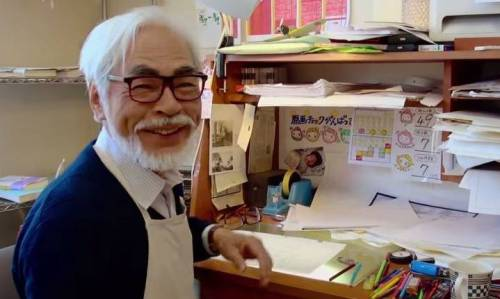 "Hayao Miyazaki (from documentary ""The Kingdom of Dreams and Madness"")"